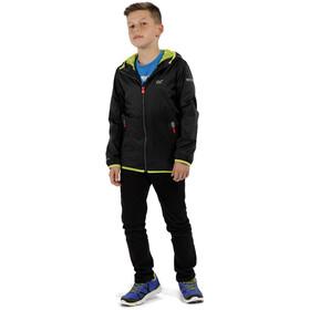 Regatta Lever II Waterproof Shell Jacket Kids, black